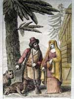 Костюм русских или тартарских крестьян 1814 года