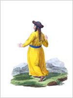 Костюм тартарской женщины Кузнецка