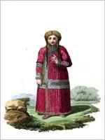 Костюм тартарской женщины Ачинска (Красноярск)