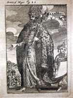 Великий Могол (Grand Mogol), Мале, немецкое издание 1685 года