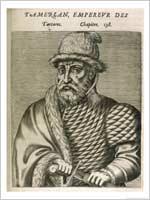 Тамерлан – предок Бабура, основателя империи Великих Моголов