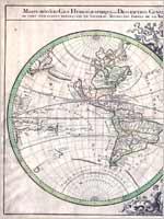 Карта 1691 года французского картографа Николаса Сансона