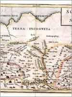 Карта Скифии и Серики Кристофера Селлариуса, 1703 г.