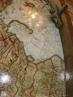 Медный глобус Блау, 1672 год