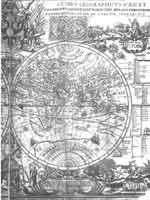 Карта 1707 года В. Киприанова «Изображение Глобуса земного»