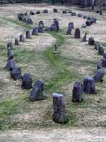 Каменная ладья, погребальный комплекс, Баделунда, Швеция