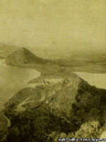 Пирамиды Приморья. Фото Н.А. Баландина 1931 года