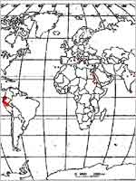 Распространение пирамид на планете Земля