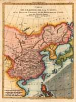Карта Тартарии и Кореи, Париж, 1780 г.