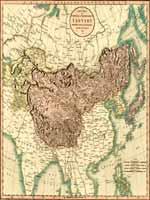 Карта Китайской и Независимой Тартарии, 1806 г.