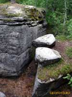 Каменный город в Пермском крае