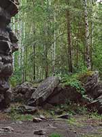Мегалиты Урала. Скалы Семь Братьев