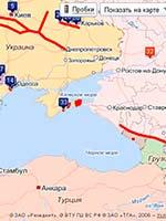 Карта Змиевых валов и других участков Стены