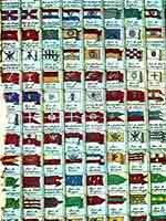 Флаг Тартарии в таблице морских флагов, 18 в.
