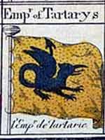 Флаг императора Татарии в таблице морских флагов, 1865 г.