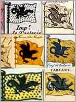 Изображения флагов Тартарии из различных иностранных таблиц
