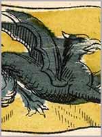 Рисунок имперского флага Тартарии, 19 в.
