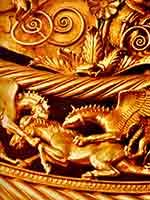 Фрагмент пекторали IV века до н.э. из «Толстой могилы»