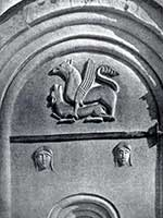 Грифоны на церкви Покрова-на-Нерли