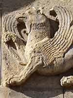 Грифоны на храме Самтависи, Грузия, 11 в.