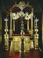 Двойной трон царей Ивана и Петра Алексеевичей