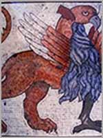 Грифон на мозаике в Соборе Св. Марка, Венеция
