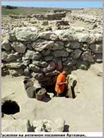 Раскопки античных поселений в Крыму