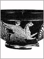 Краснофигурный килик, IV век до н.э., Пансккое