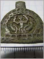 Медальон «Вознесение Александра Македонского»
