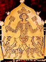 Фрагмент диадемы «Вознесение Александра Македонского»