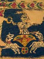 «Вознесение Александра Македонского». Ткань из обширной трофейной коллекции, вывезенной из Германии