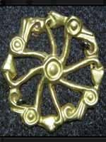 Скифское золотое украшение