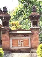 «Ведические символы» на острове Бали