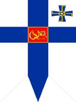 «Ведические символы» на президентском штандарте, Финляндия