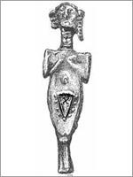 Идол, Троя, 3 000 до н.э.
