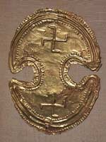 Свастика на Нагрудном знаке воина, Крит, 1500-1000 до н.э.