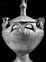 Свастика на Кратере (вазе), южная Этрурия, Вулчи, 800 г.до н.э.