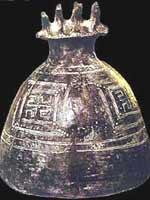 Свастика на крышке урны для праха, 800 г.до н.э.