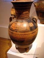 Свастика на Амфоре, 850 г. до н.э.