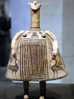 Свастика на Терракотовой фигурке, 700 г. до н.э.