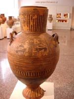 Свастика на Пифосе (амфоре), Беотия, 680 г. до н.э.