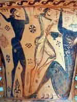 Свастика на Пифосе (амфоре), Аттика, 650 г. до н.э.