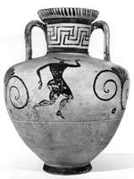 Свастика на Пифосе (амфоре), Аттика, 550-540 г. до н.э.