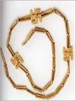 Свастика на Персидском ожерелье, Калузар, 10 в до н.э.
