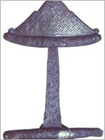Свастика на мече викинга 9 в.