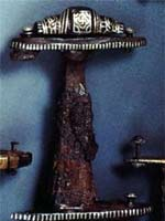 Славяно-арийский символ на мече Меровингов 5 в.