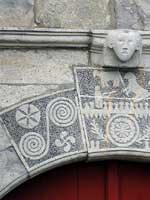 Могильный памятник, Айнхоа (Ainhoa), баскская деревня