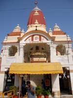 Свастика на храме Лакшми Нараян, Нью-Дели