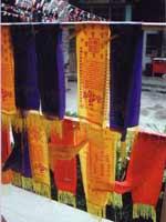 Свастика на полотнищах