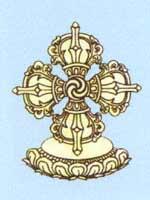 Свастика на тибетской религиозной символике